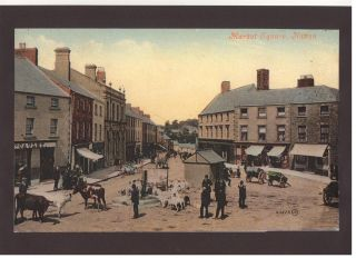 market sq navan early 20th cent