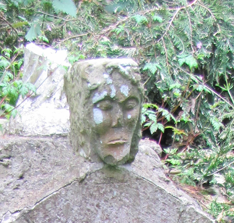 close up st bridgets head