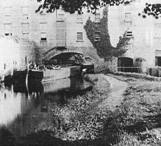 barge at athlumney mill
