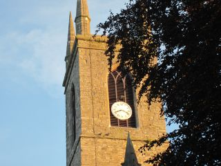 st mary's c.of i clock
