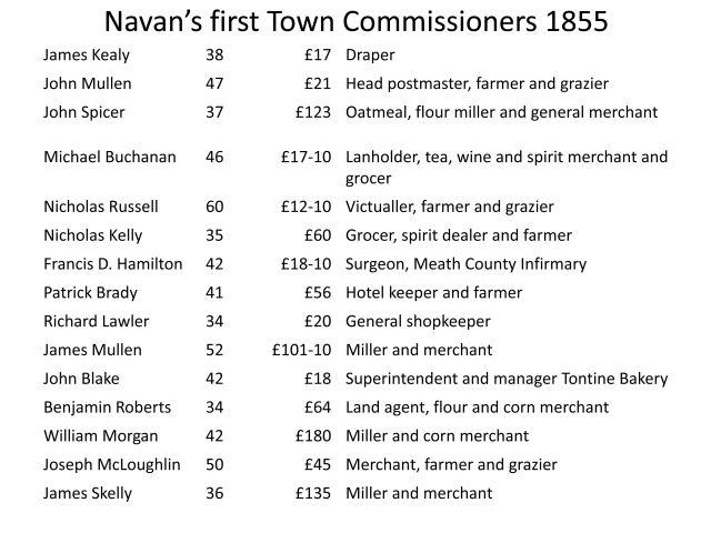 Navan Historical Society - Local Government in Navan 1469-2014