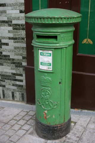 edwardian post box waergate st
