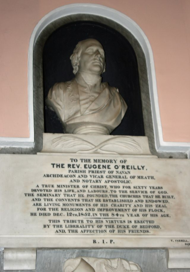 eugene o reilly bust in st marys church