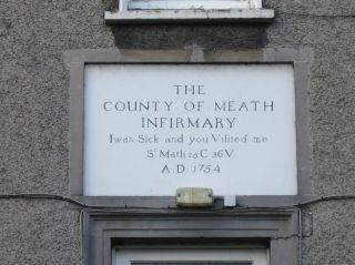 infirmary plaque