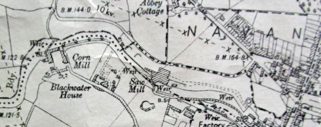 map blackwater mill