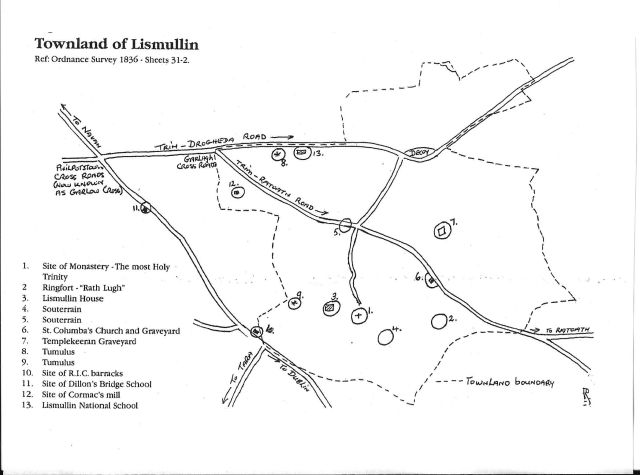 map lismullin