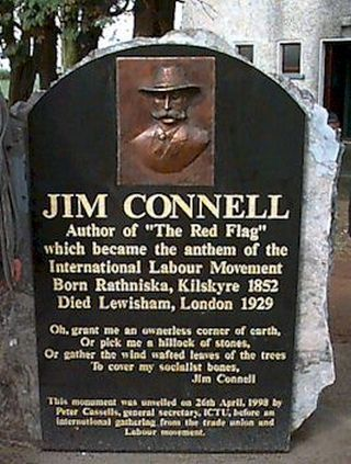 connell memorial stone