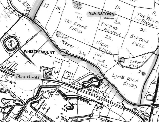 nevinstown map