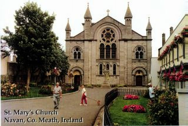 Navan Historical Society St Mary S Catholic Church